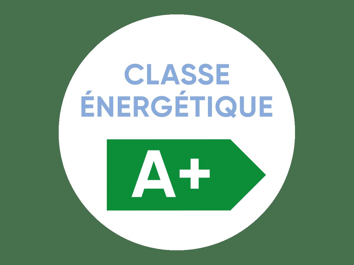 Logo certification classe énergétique produit
