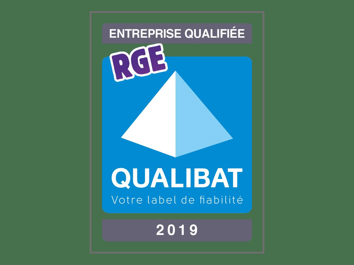 Logo certifié qualibat