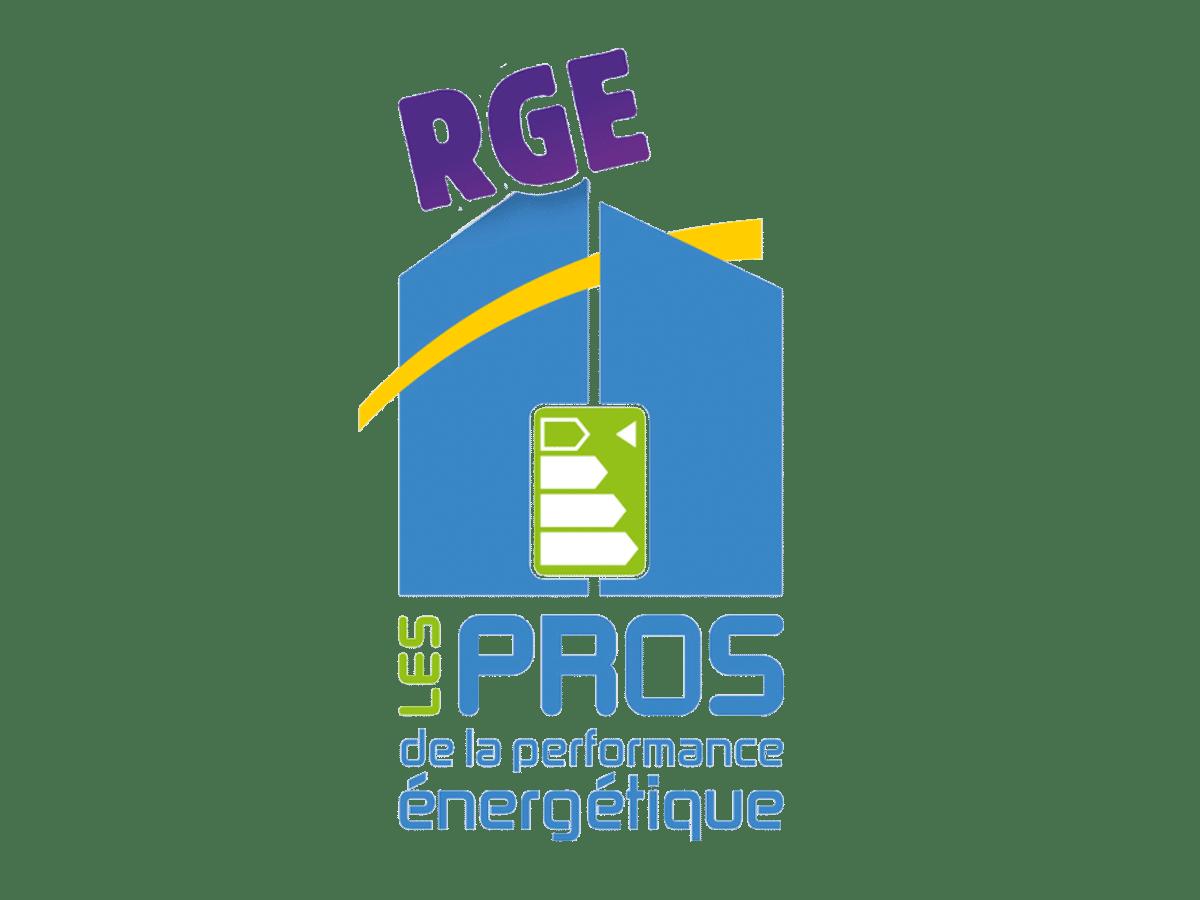 Logo certification RGE - performances énergétiques