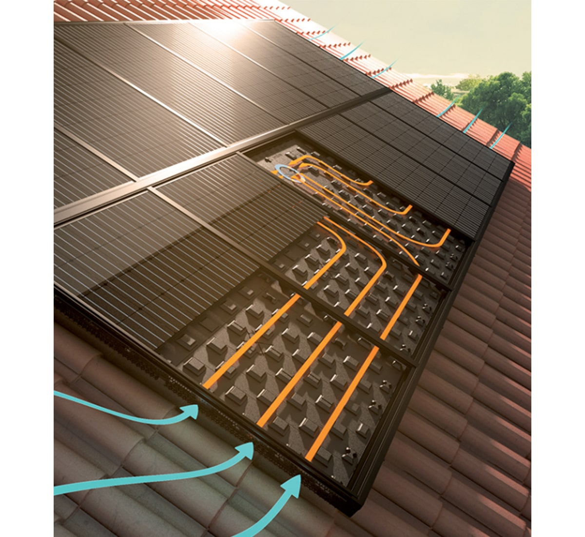 ventillation solaire autonome