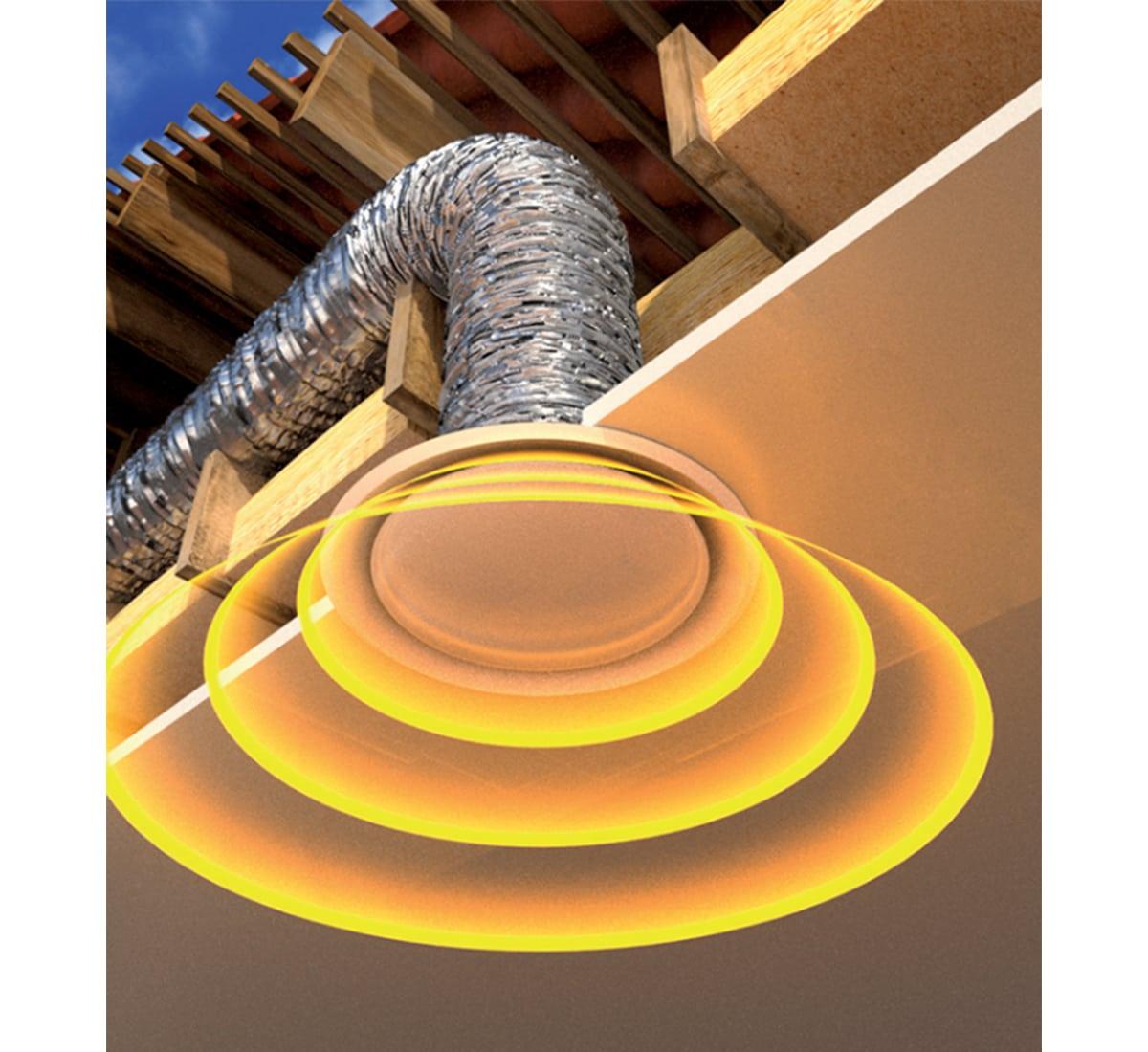 installation d'une ventilation solaire autonome vue 2