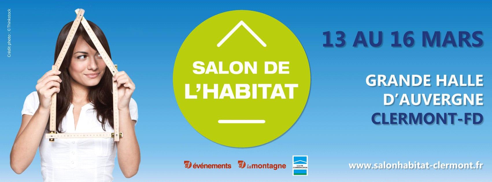 Salon de l'habitat du 13 au 16 mars 2020 à clermont